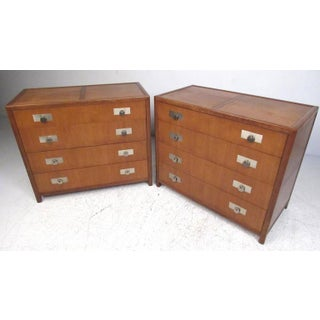 Vintage Pair of Michael Taylor for Baker Dressers Preview