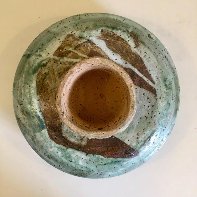 Mid-Century Ikebana Style Studio Pottery For Sale In Richmond - Image 6 of 8