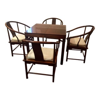 Baker Furniture Chinoiserie Style Dining Set - Set of 5