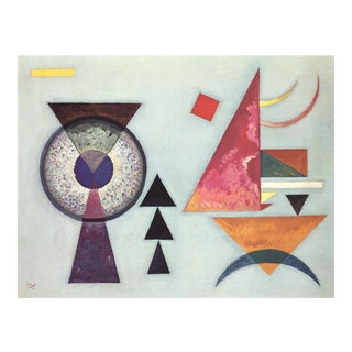 """Soft Hard"" Wassily Kandinsky Lithograph For Sale"