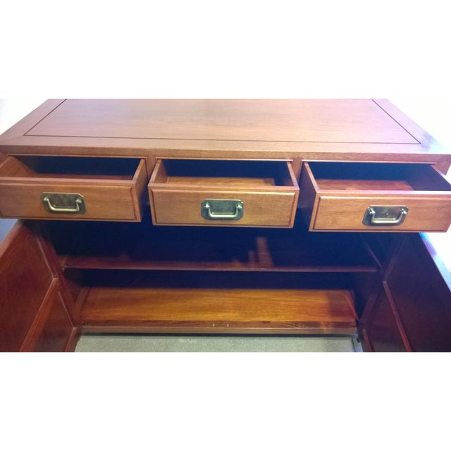Vintage Chinese Rosewood Buffet - Image 9 of 9