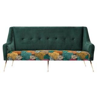 Mid-Century Zanuso Style Sofa For Sale