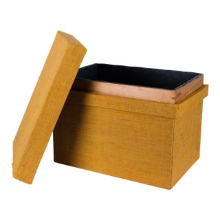 Japanese Chabako Tea Box or Crate For Sale