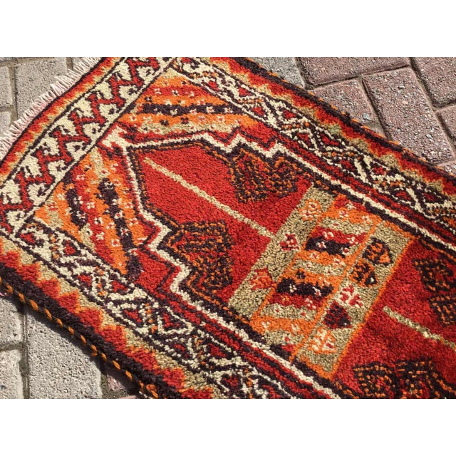 Vintage Anatolian Area Rug For Sale In Raleigh - Image 6 of 8