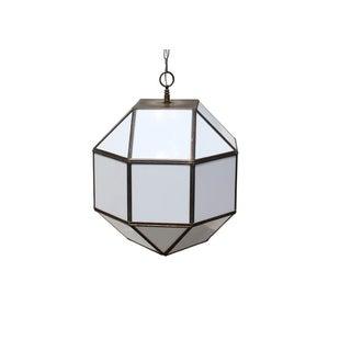 Vintage Geodesic Light Fixture For Sale