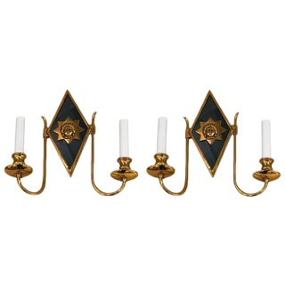 Russian Style Neoclassic Sconces - a Pair