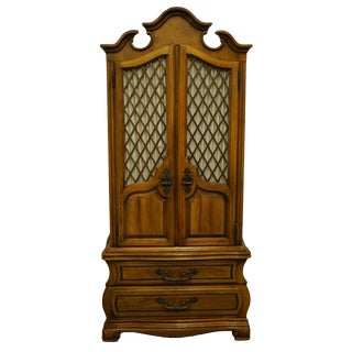 Hickory Manufacturing Co. Italian Neoclassical Armoire For Sale