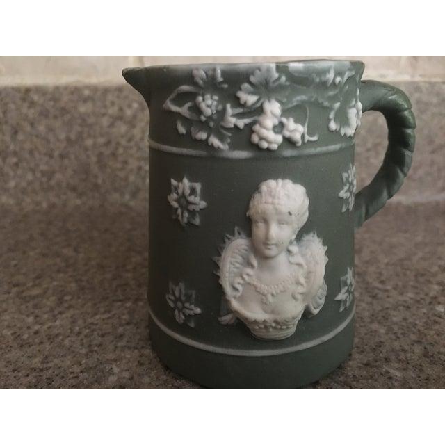 Traditional Vintage Schafer & Vater Queen Elizabeth I Pitcher For Sale - Image 3 of 6