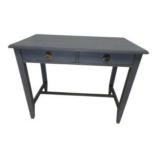 Swedish Gustavian 2 Drawer Desk For Sale