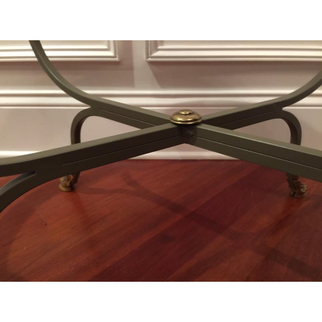 1990s American Classical Drexel Heritage Claw Foot Coffee Table For Sale In Chicago - Image 6 of 7