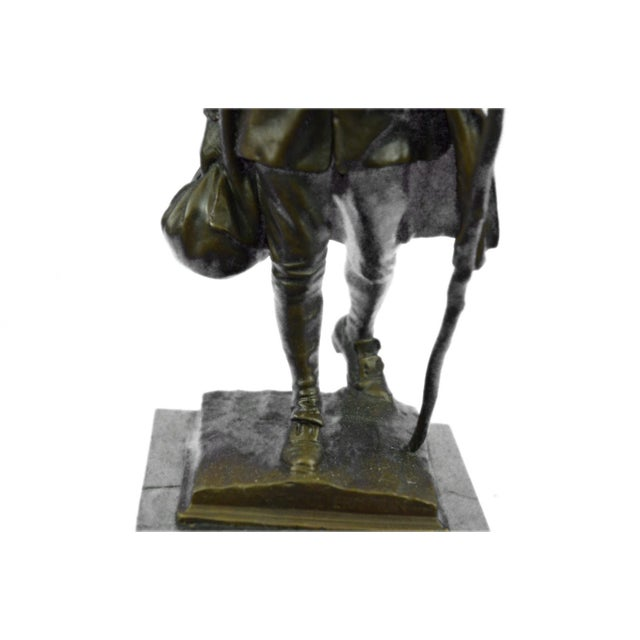 Benjamin Franklin Bronze Sculpture - Image 9 of 9