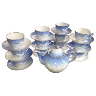Bing and Grondahl Tea Service For Sale