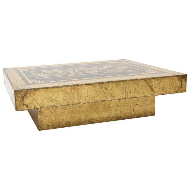 Bernhard Rohne Coffee Table for Mastercraft For Sale - Image 9 of 9