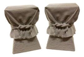 Image of Plaster Side Tables
