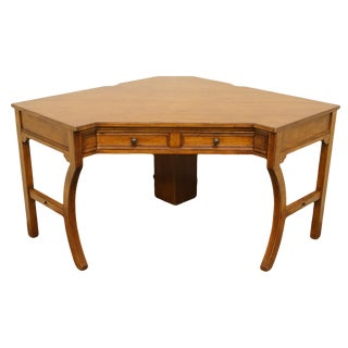 20th Century Traditional Sligh Furniture the Ellis Line Office Corner Desk For Sale