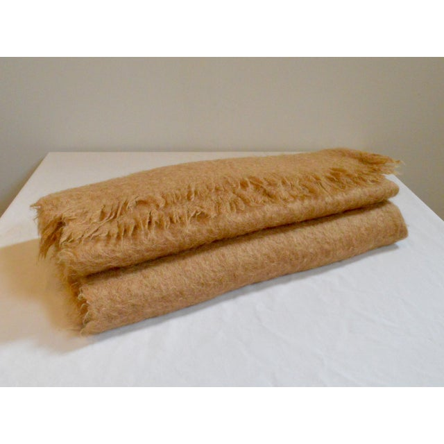 Scottish Mohair Throw For Sale - Image 4 of 8