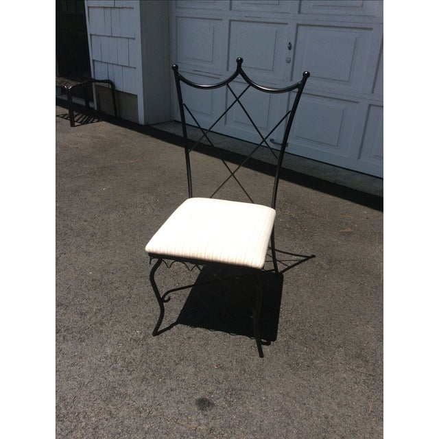 Ruthie Sommers Outdoor Metal Chairs - Set of 6 - Image 4 of 7