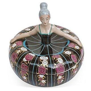 Robj Art Deco Ballerina Bonbonniere For Sale