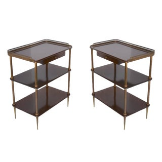 1940s French Side Tables - A Pair For Sale