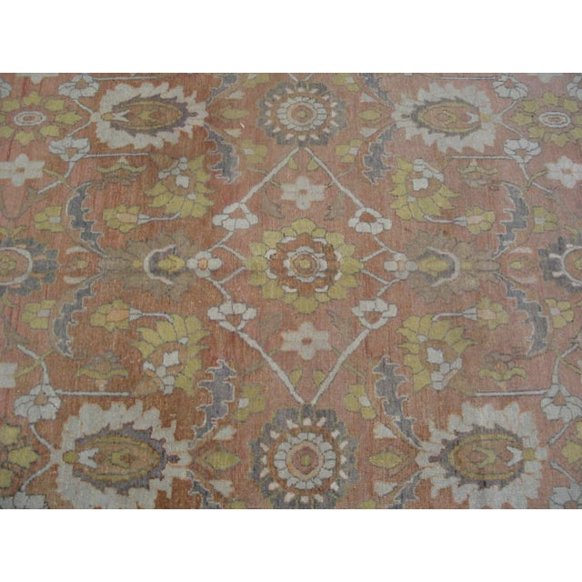 """Antique Moud Rug 8'0"""" X 15'8"""" For Sale In New York - Image 6 of 9"""