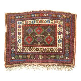 Persian Tribal Small Rug, 1'1'' x 1'6'' For Sale