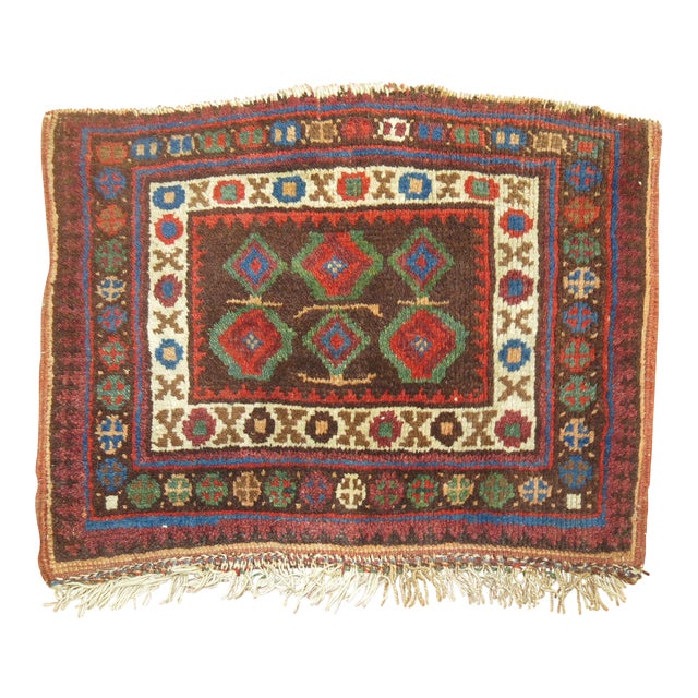 Tribal Small Rug, 1'1'' x 1'6'' For Sale