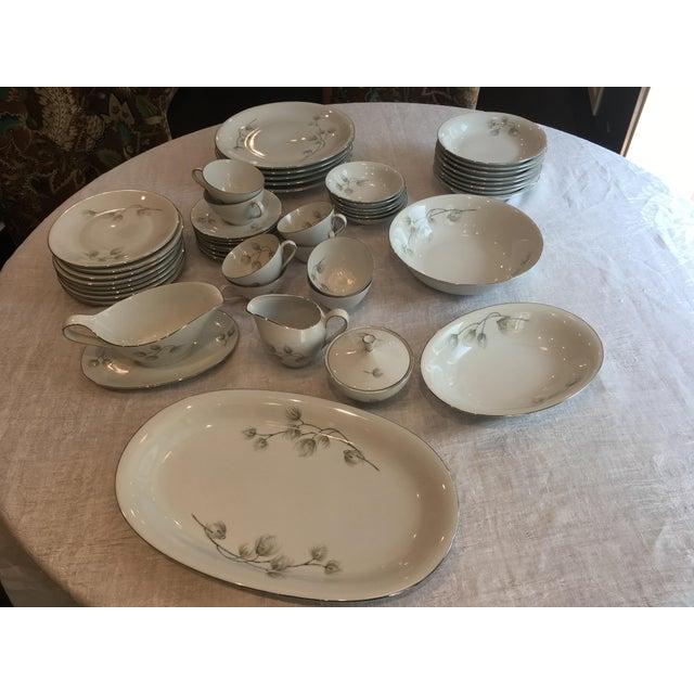 Set of Bavarian Western Germany Pine Bough Dishes - Image 2 of 7