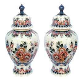 Image of Orange Ginger Jars