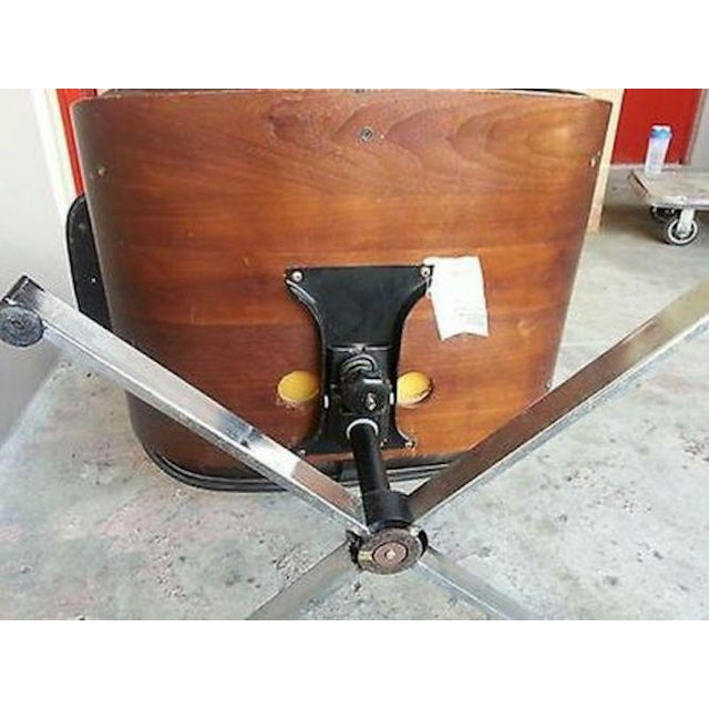 Vintage Original 60's Plycraft Eames Chair and Ottoman For Sale In Miami - Image 6 of 7