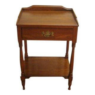 Henkel Harris Solid Cherry Night Stand For Sale