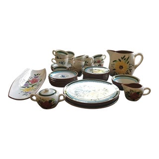 Stangl Floral Dinnerware
