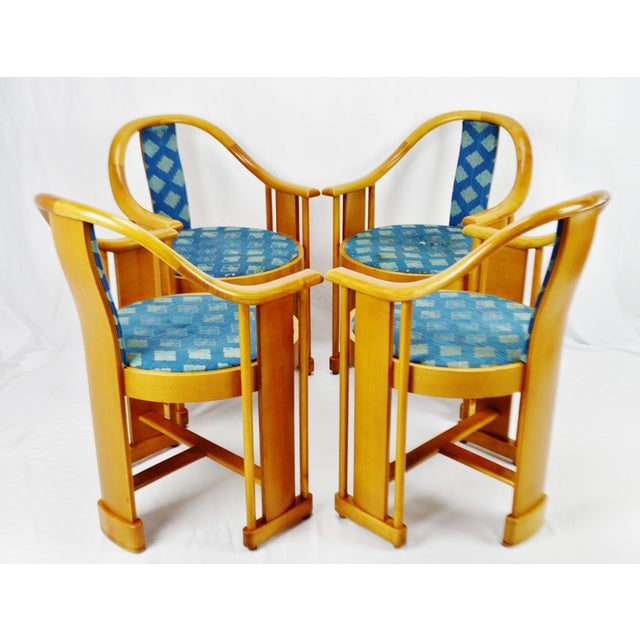 Vintage art deco style colber italian bentwood armchairs - Deco vintage chic ...