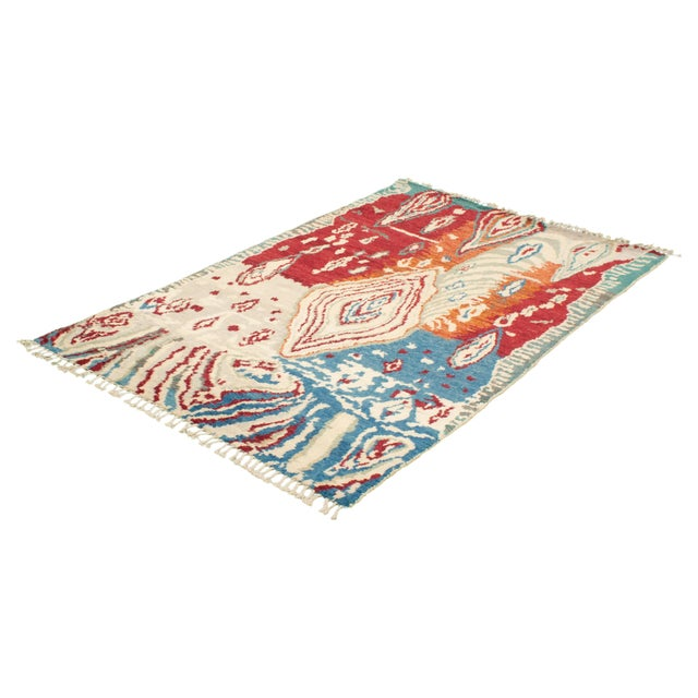 """Textile Hand-Knotted Rug, 5'8"""" X 9'2"""" For Sale - Image 7 of 9"""
