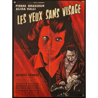 """Eyes Without a Face"" 1960 French Film Poster For Sale"