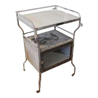 Industrial Medical Cabinet/Bar Cart