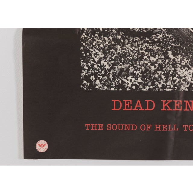 """1982 Dead Kennedys """"The Sound of Hell Too Close to Home"""" Promotional Poster For Sale - Image 4 of 11"""
