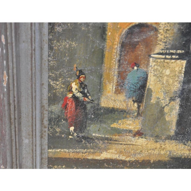 19th Century Italian School Oil Painting For Sale In San Francisco - Image 6 of 10