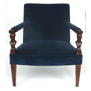 "Newly Upholstered Donghia ""Rushmore"" Armchairs by John Hutton-A Pair Preview"