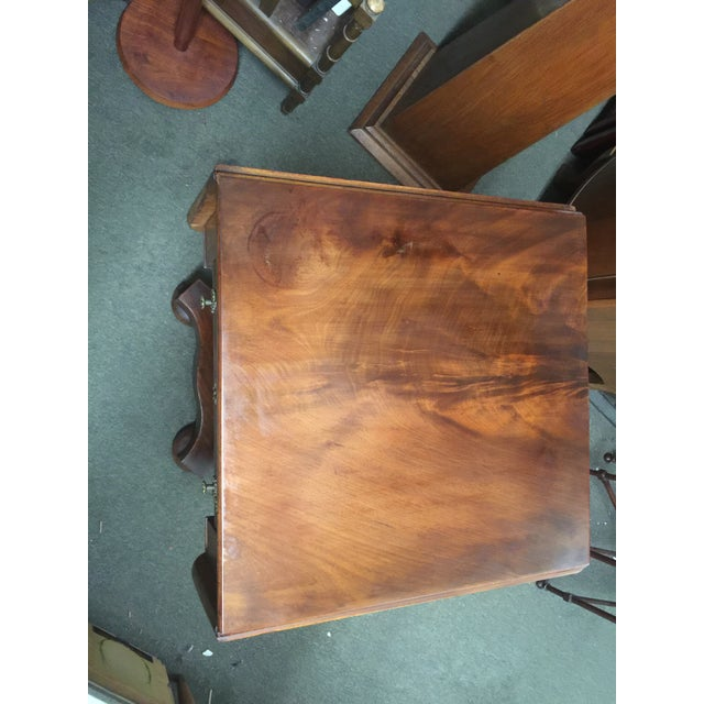 Antique Mahogany Empire Work Table For Sale - Image 10 of 11