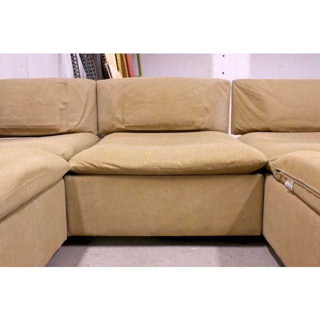 1970s Adrian Pearsall Modular Sectional Sofa for Craft Associates For Sale - Image 9 of 13