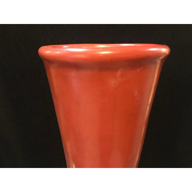 Monumental Decorative Moroccan Pottery Vases - A Pair For Sale - Image 4 of 8