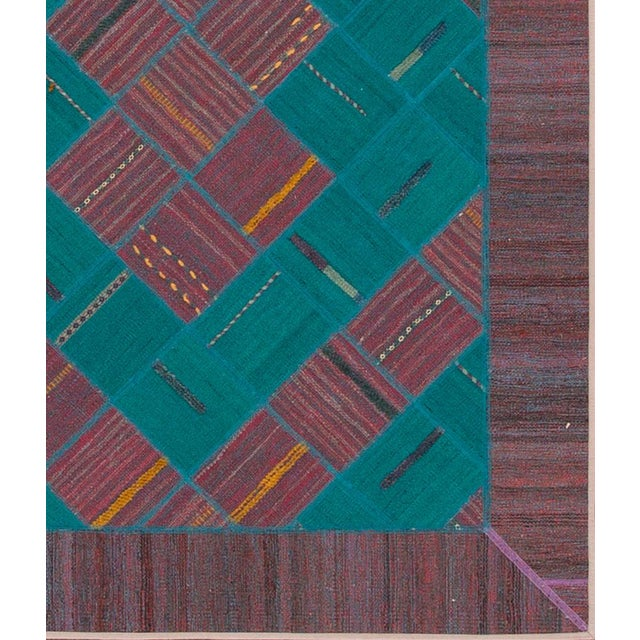 "Apadana - Persian Flat-Weave, 4'11"" X 6'6"" - Image 2 of 4"