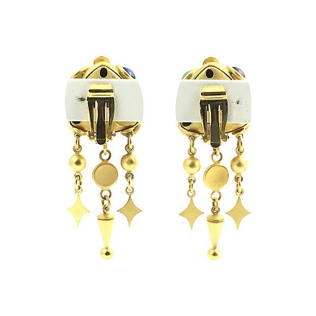 Natasha Stambouli Chandelier Earrings For Sale - Image 4 of 8