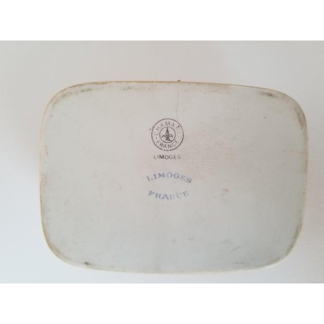 Vintage Chamart Limoges Trinket Box For Sale - Image 11 of 12