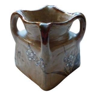 Mid 19th Century Shino Ware Vase For Sale