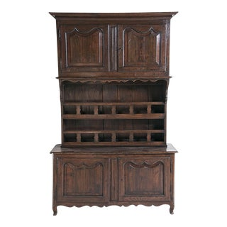 Large French Three Part Cabinet