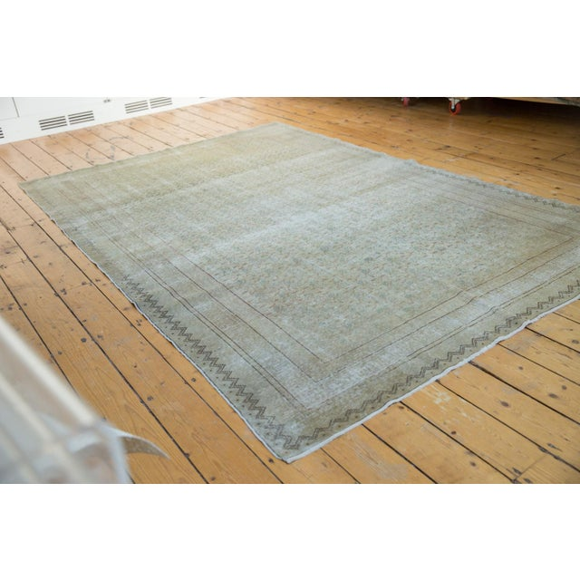 "Contemporary Vintage Distressed Kayseri Carpet - 6'6"" X 9'4"" For Sale - Image 3 of 13"