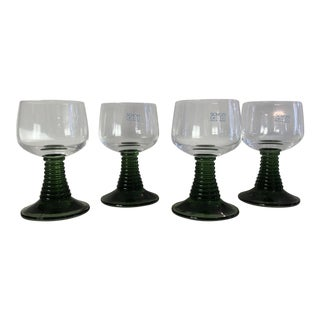 Schott Zwiesel Green Emerald Green Shot Glasses - Set of 4