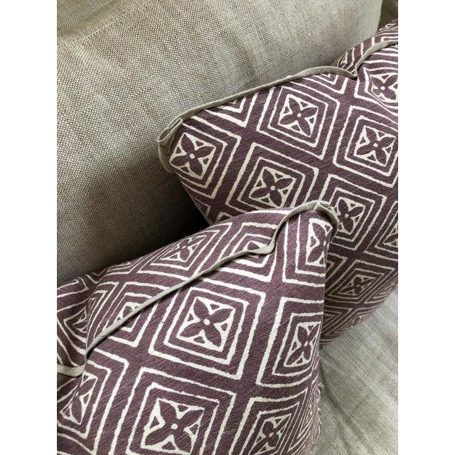 Quadrille China Seas Designer Made Fiorentina Throw Pillows - a Pair For Sale - Image 11 of 13
