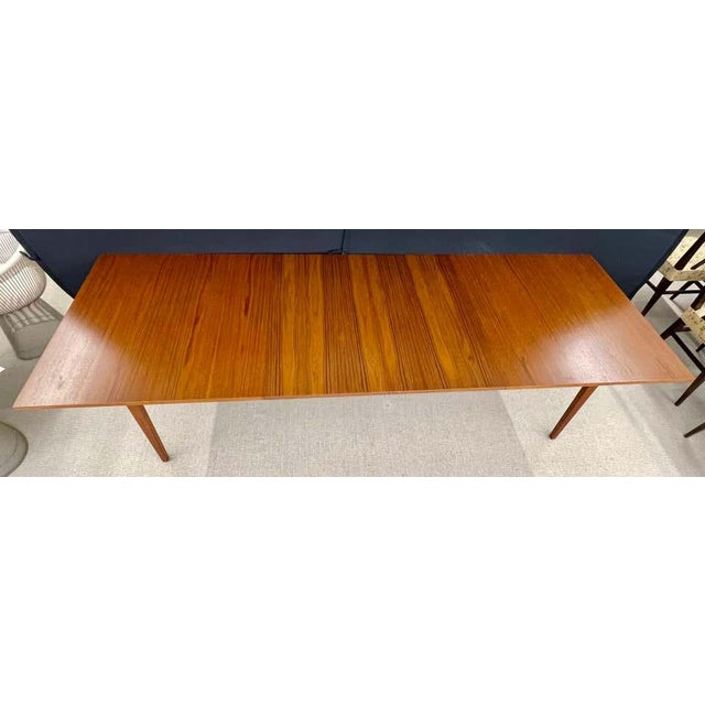 George Nelson Herman Miller Dining Table, Mid-Century Modern Teak Wood For Sale - Image 11 of 13